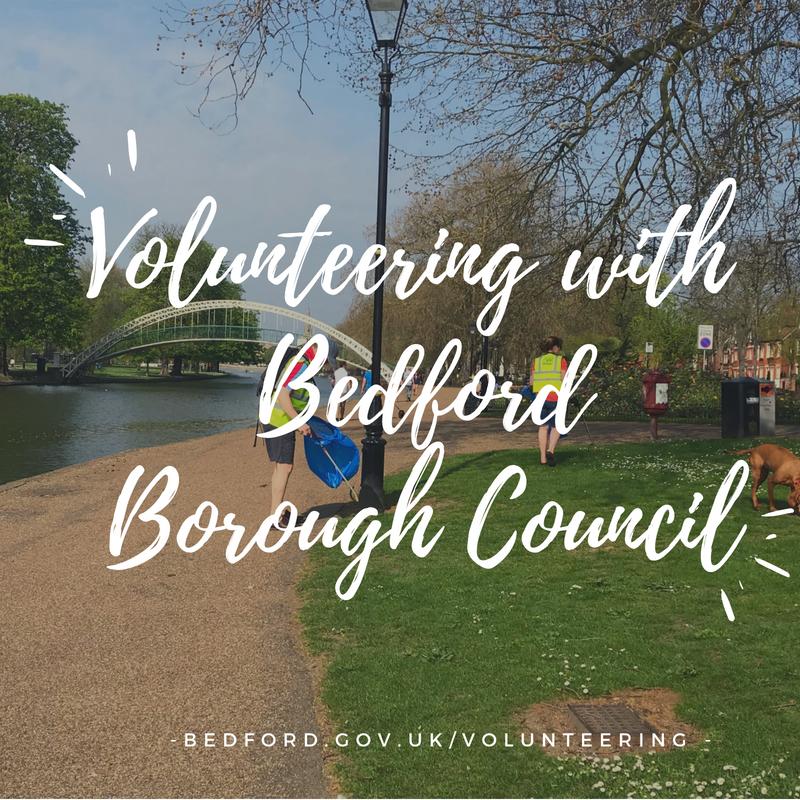 Community volunteers in Bedford